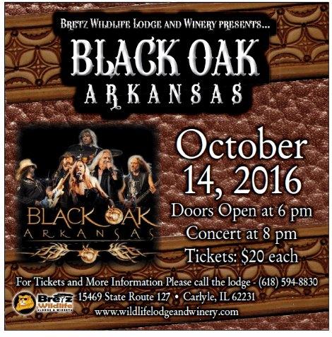 Black Oak Arkansas 10-14-16