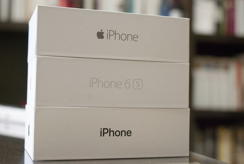 iPhone 상자