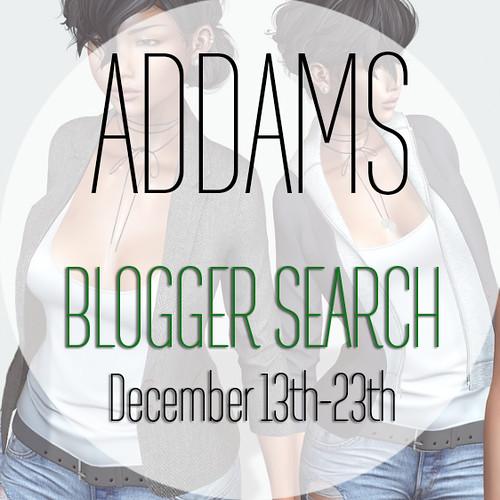 Addams Blogger Group