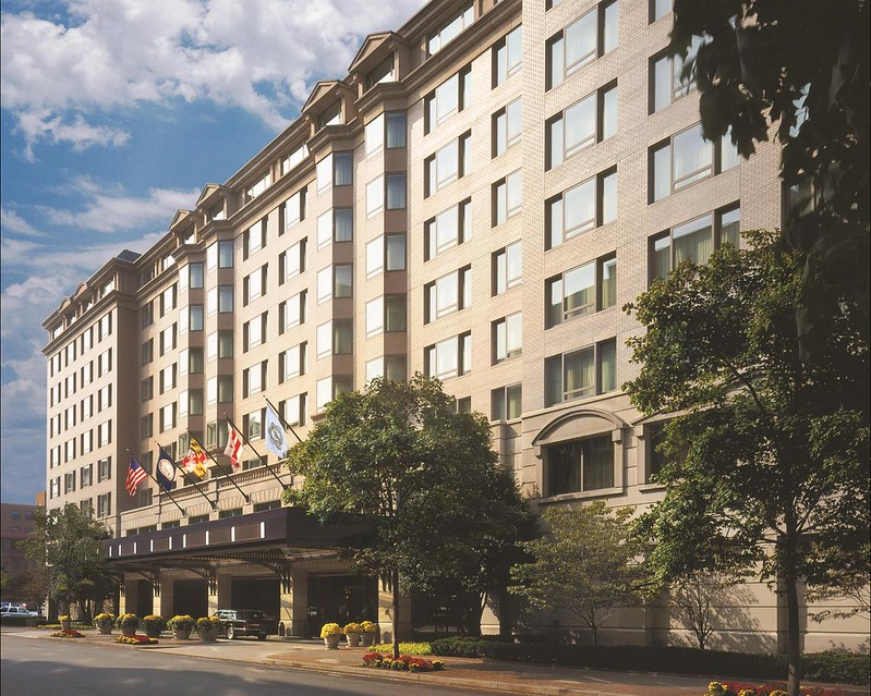 Exterior view of the Fairmont Washington D.C.