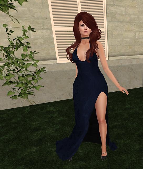 Celeste brocade gown, Sn@tch ( riot vendor)
