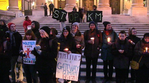 Edmonton (Treaty 6) Vigil to Stop Kinder Morgan