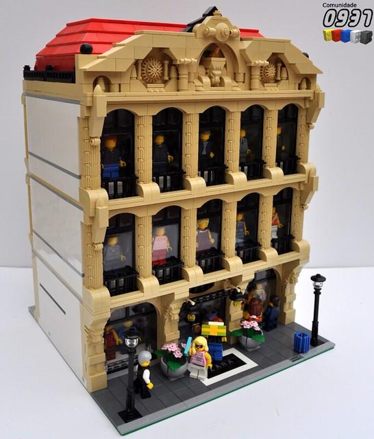 Lego Moc Free Instructions City Modular