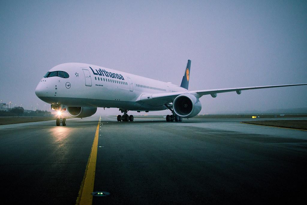 Megérkezett a Lufthansához az első A350-es