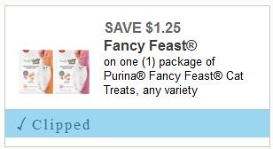 Fancy Feast Cat Treats
