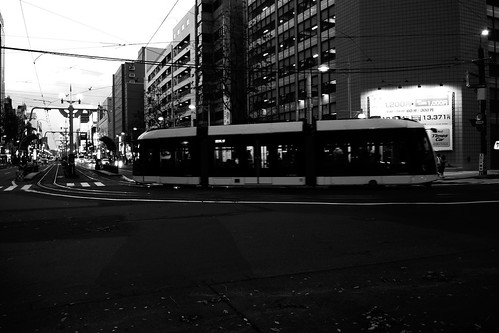 Tramcars at Sapporo on NOV 20, 2016 (33)