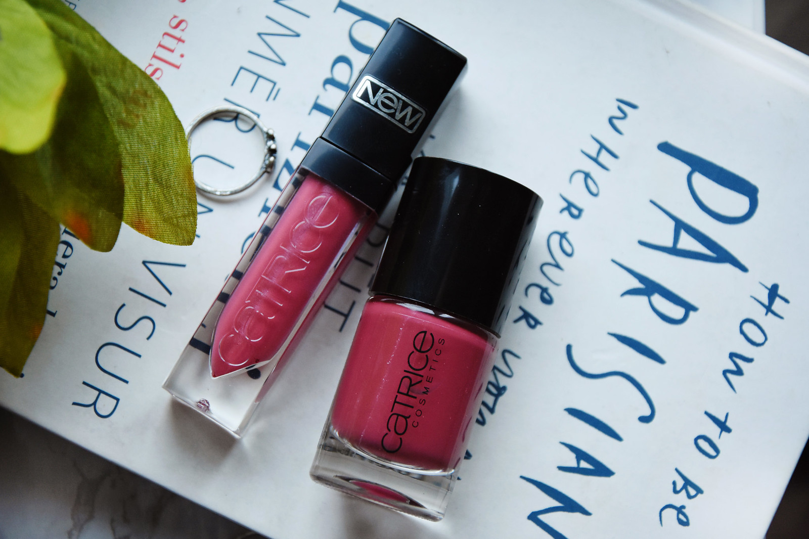 Catrice Shine appeal fluid lipstick and Ultimate nail lacquer review