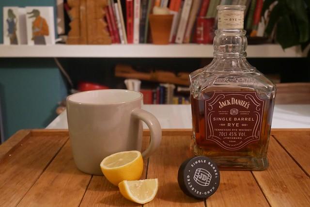 Jack Daniel's Single Barrel Rye - P1030175