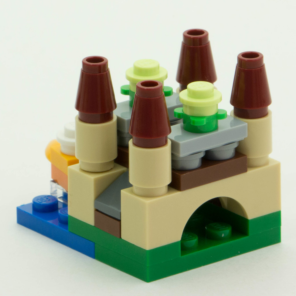 Christmas Build-Up 2016 Day 23 (really 14) Rear