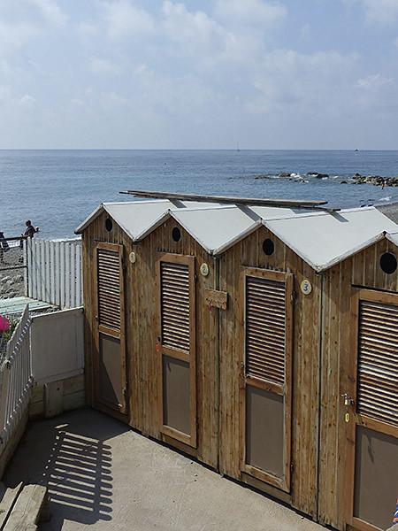 cabines de plage bordighera