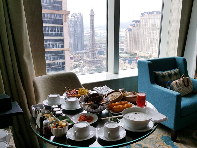 St. Regis Macau room service