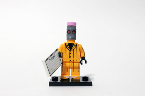 The LEGO Batman Movie Collectible Minifigures (71017) - Eraser