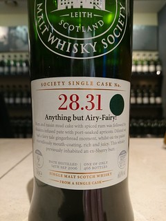 SMWS 28.31 - Anything but Airy-Fairy!
