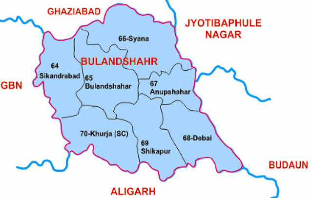 Bulandshahr district Uttar Pradesh Election 2017