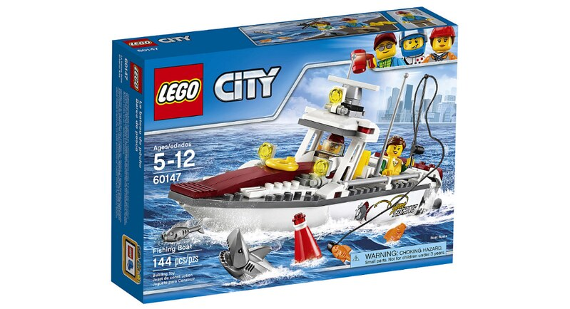 LEGO City Fishing Boat (60147)