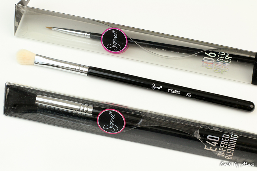 4 sigma beauty E06 E40 E25 eye makeup brushes parhaat siveltimet sigmalta sigman meikkisiveltimet suomesta eleven.fi
