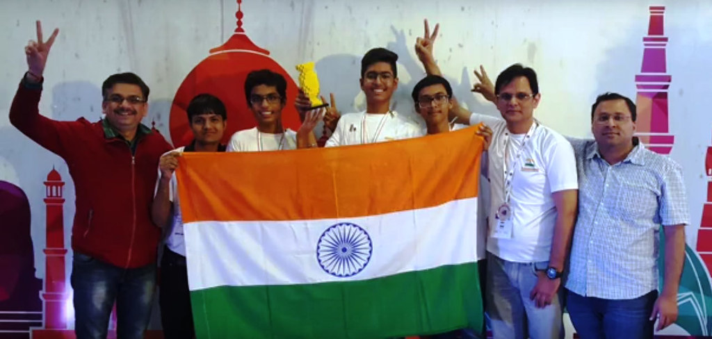 Team High Voltage Wins WRO India