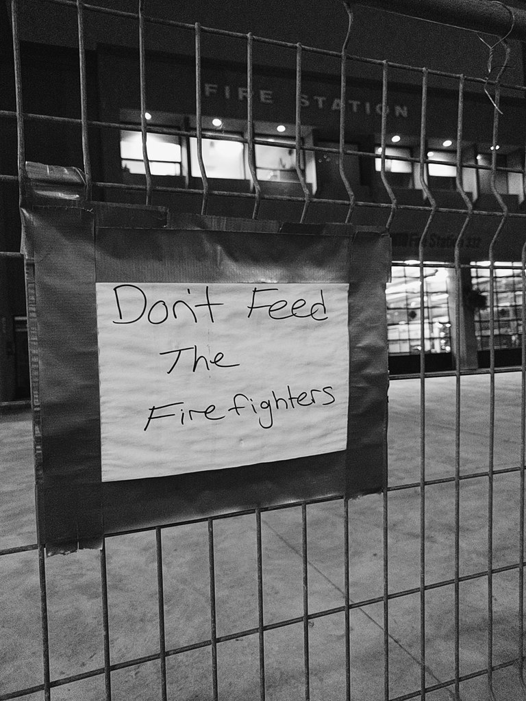 Don't feed the firefighters