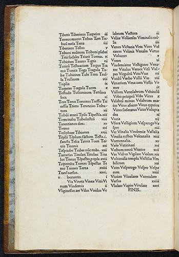 Varro, Marcus Terentius: De lingua latina - Marginal annotations