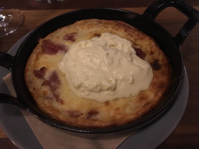 Apple clafoutis - Waxman's Restaurant