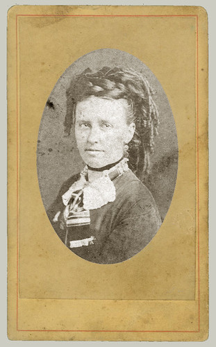 CDV portrait of a woman