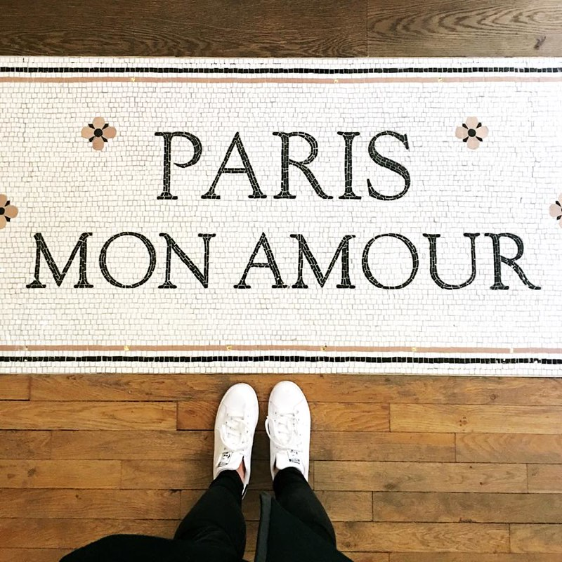 Sezane Paris floor