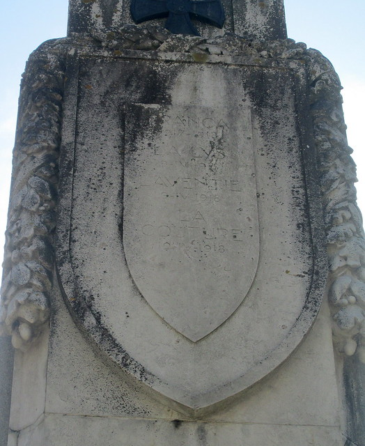 Porto War Memorial Second Cartouche