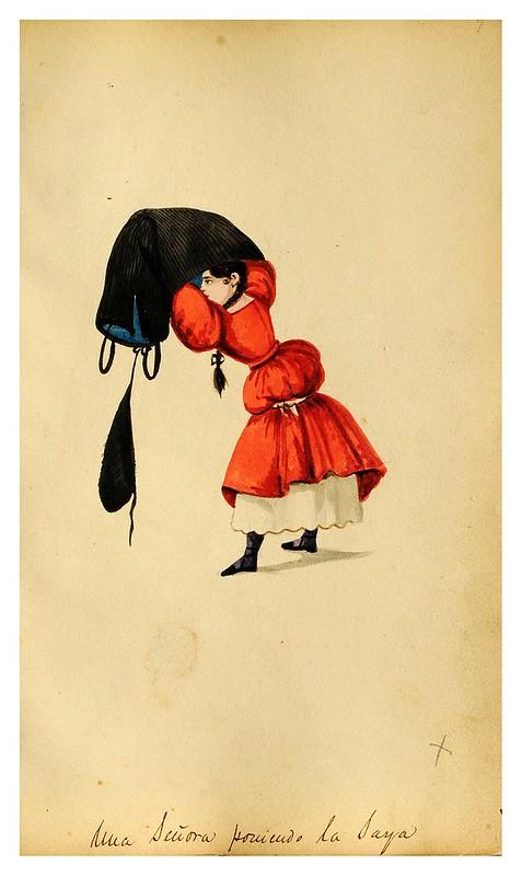 014-Tipos de Lima- Pancho Fierro- 1850-60- Museo de Bellas Artes Argentina.