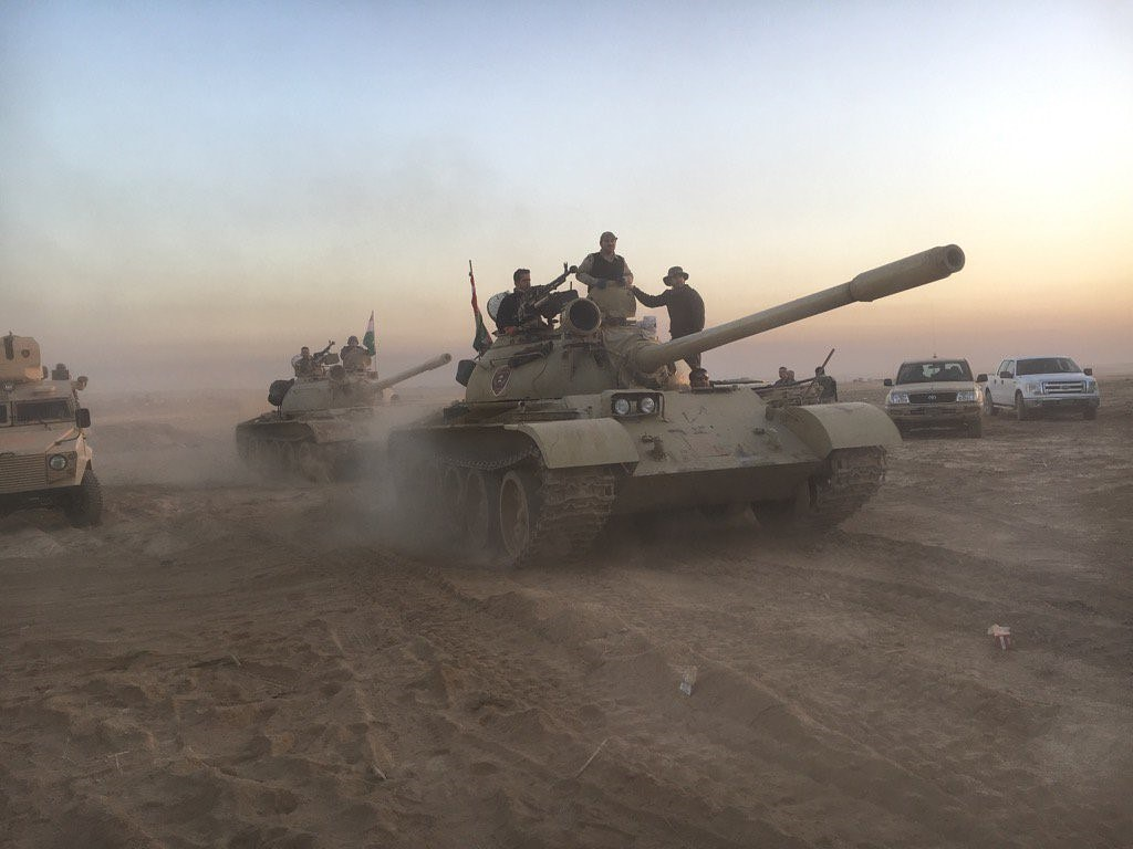 Iraq: Battle to Liberate Mosul from ISIS Begins
