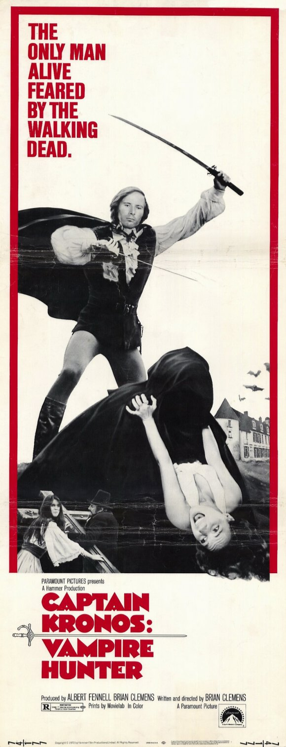 Captain Kronos - Vampire Hunter - Poster 1