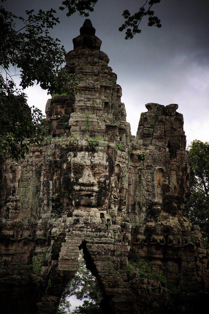 The Majestic Angkor Thom Entrance