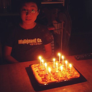 長男11歳の誕生日でした! 年が経つのは早いな。 おめでとう〜!!