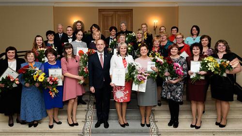 """Laba servisa kustības valsts pārvaldē """"Teicams piemērs 2016"""" balvas pasniegšanas ceremonija"""