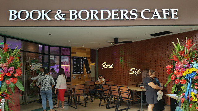 Book and Borders Cafe Now Open in Eastwood City