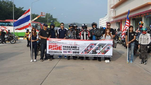 Ride Thailand to Malaysia MotoGP2016