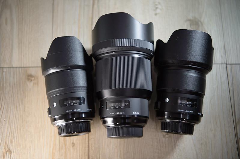 開箱重量級sigma 85mm f1 4 dg hsm art nikon版入手 nikon單眼相機