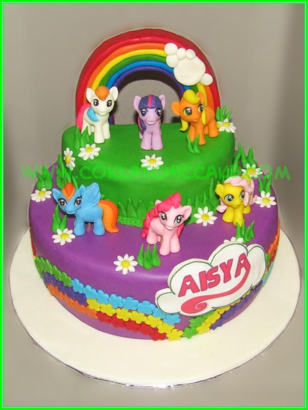Cake My Little Pony AISYA Jual Kue Ulang Tahun