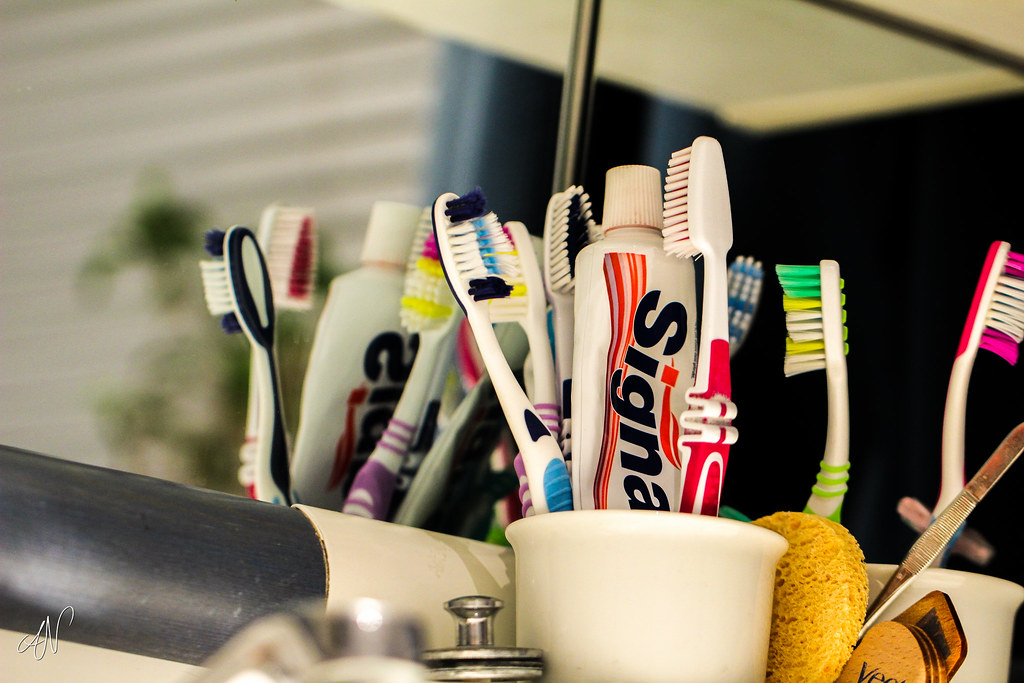 18/365 - Toothbrushes