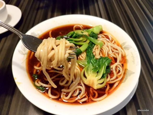 Dan Dan Noodles with Spicy Sauce