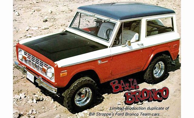 1971 Ford Baja Bronco