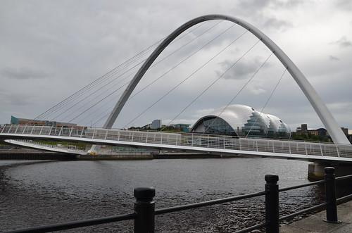 Gateshead Millennium Bridge Sept 16