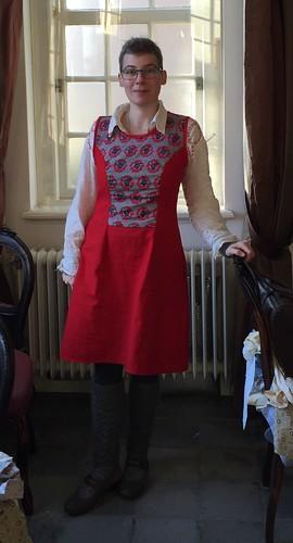 outfit handmade dress