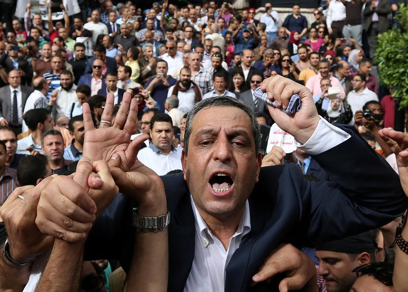 EGYPT-RIGHTS-JOURNALISTS