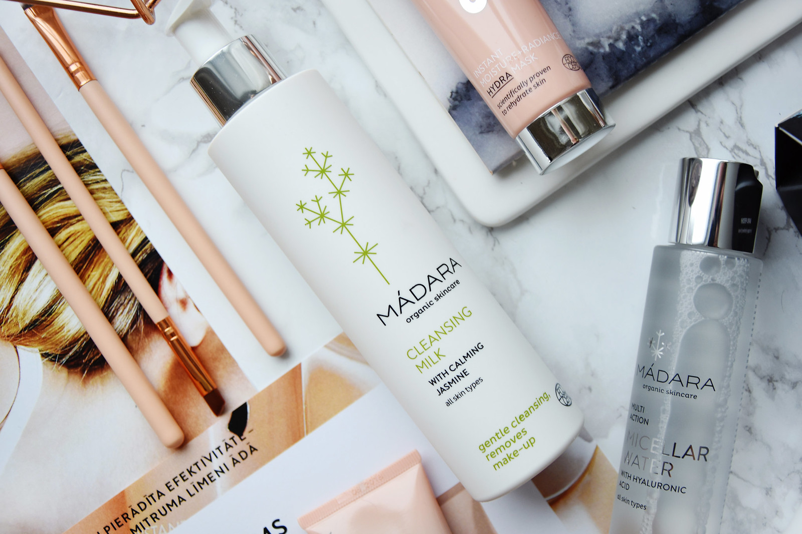 MADARA Cosmetics cleansing milk review