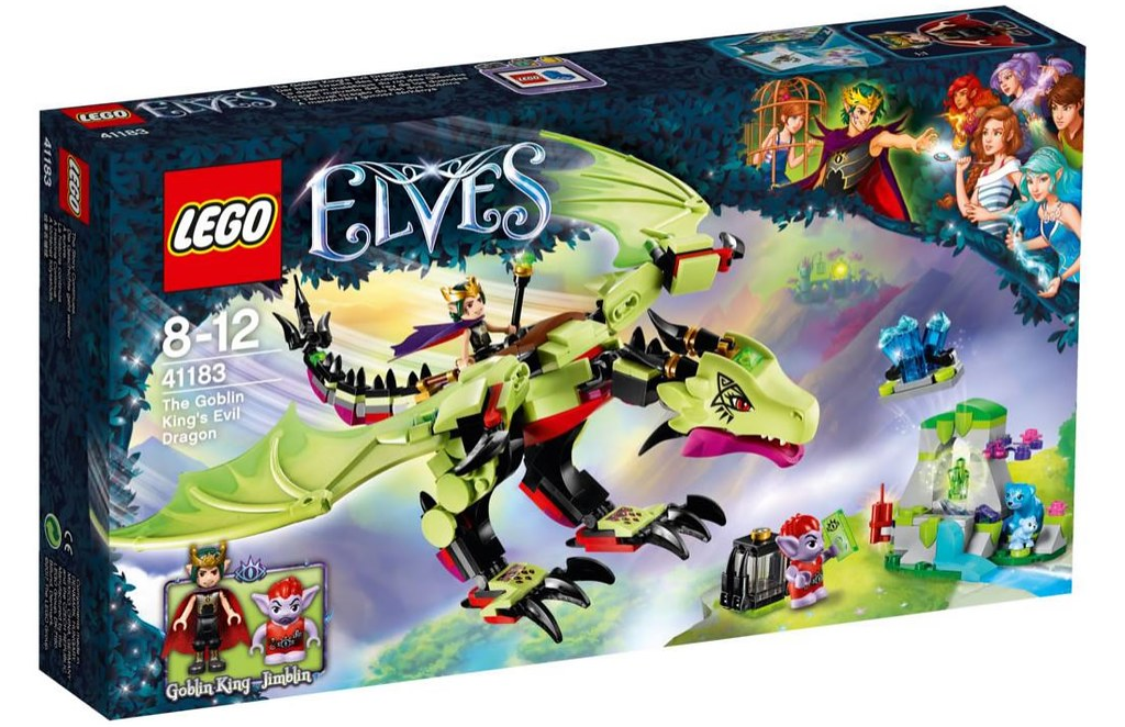 LEGO Elves 41183 - The Goblin King's Evil Dragon