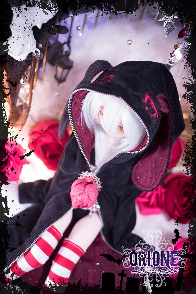 [Idoll HK2] DD/MDD outfit set - Crimson Rabbit Magician