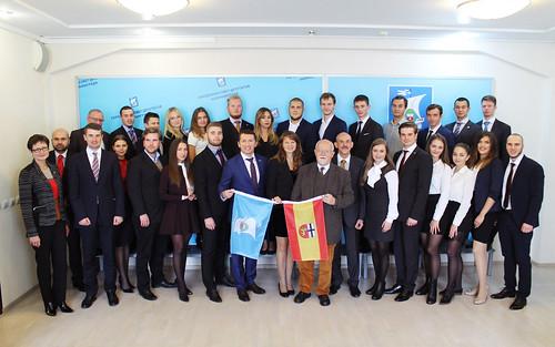 Встреча участников Молодежного парламента между городами Бонн и Калининград