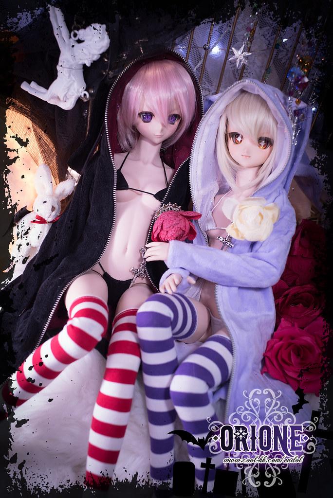 [Idoll HK2] DD/MDD outfit set - Rabbit Magician