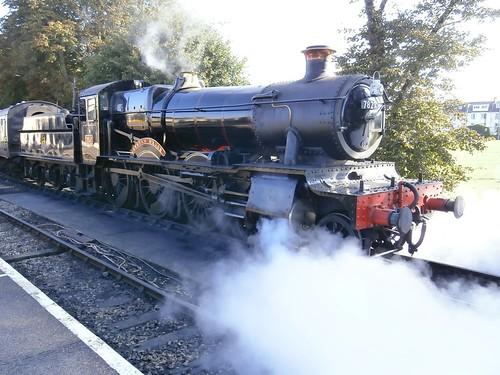 1 Lydham Manor 7827, Paignton, Dartmouth Steam Railway 09-16