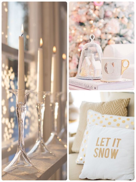 LetItSNowSparklyTime, sparkly christmas, säihkyvä joulu, inspo, inspiration, joulu, christmas, pinterest, gold, kulta, let it snow, details, yksityiskohdat, decoration, koristella, sisustus, interior design, home, koti, candles, kynttilät,